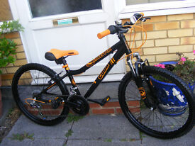 CUDA FRONT SUSPENSION BIKE HARDLY USED IN GREAT WORKING ORDER AGE 8+
