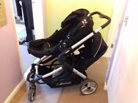 Hauck duo pushchair single or double can also be parent facing