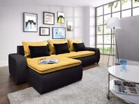 VEGAS Delivery 1-10 days Brand NEW Corner Sofa Bed Function and Storage Universal Side