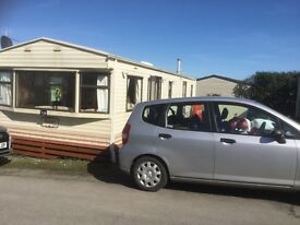 Smartly presented spacious caravan on Todber Park, Gisburn