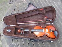 Stentor child's 1/8 violin with case