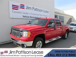 2012 GMC SIERRA 2500HD 6.6L Diesel SLE Crew Cab 4X4 w/ Leather