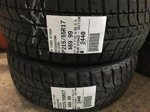 215/55/17 Bridgestone Blizzak *Winter Tires*