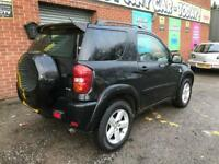 2005 (Sep 55) TOYOTA RAV4 2.0 XT-R Station Wagon - 3 Doors - AUTO - Petrol - BLACK *SUNROOF/MOT/PX*