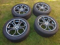 """AC Twist 18"""" Alloys ( Were On Insignia) See listing for full spec."""