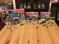 Lego friends 3 sets all complete with boxes