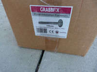 Boxes of 250x Grabbfix Metal Insulation Fasteners (170mm)