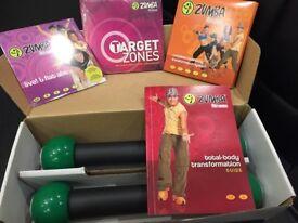 Zumba fitness kit. Brand New.