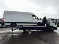 Ford Iveco tector Recovery tilt and slide 22ft body 4ton Hiab led beacon new tyres new led rear bar