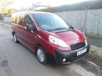 PEUGEOT EXPERT 2012 WHEELCHAIR ACCESS SEATS 6 LOW MILES FSH