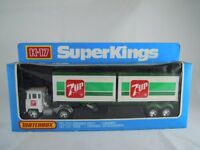 1973 MATCHBOX SUPERKINGS K-17 SCAMMELL CONTAINER TRUCK '7 UP' LIVERY
