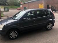Ford Fusion 1.4(55 plate) 12 month mot,New clutch,recent cambelt drives spot on solid bodywork