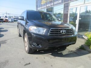 2009 Toyota Highlander SPORT 4WD 7-PASSENGER W/ LEATHER & SUNROO