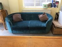M&S 3 seater sofa in Teal