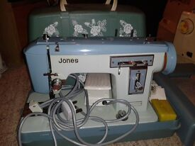 BROTHER JONES JA 28 SEWING MACHINE IMMACULATE CONDITION
