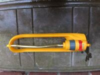 Hozelock Rectangular Lawn Sprinkle in excellent condition. Very light use.