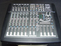 600 WATT Stereo Powered Mixer - STK VM-14SDN --300 WATTS PER SIDE into 4 ohms TESTED ALL WORKING