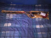Kenley Fishing Rod, 2 Reels, 2 Keep Nets, essentials and 8 assorted VHS fishing tapes for sale