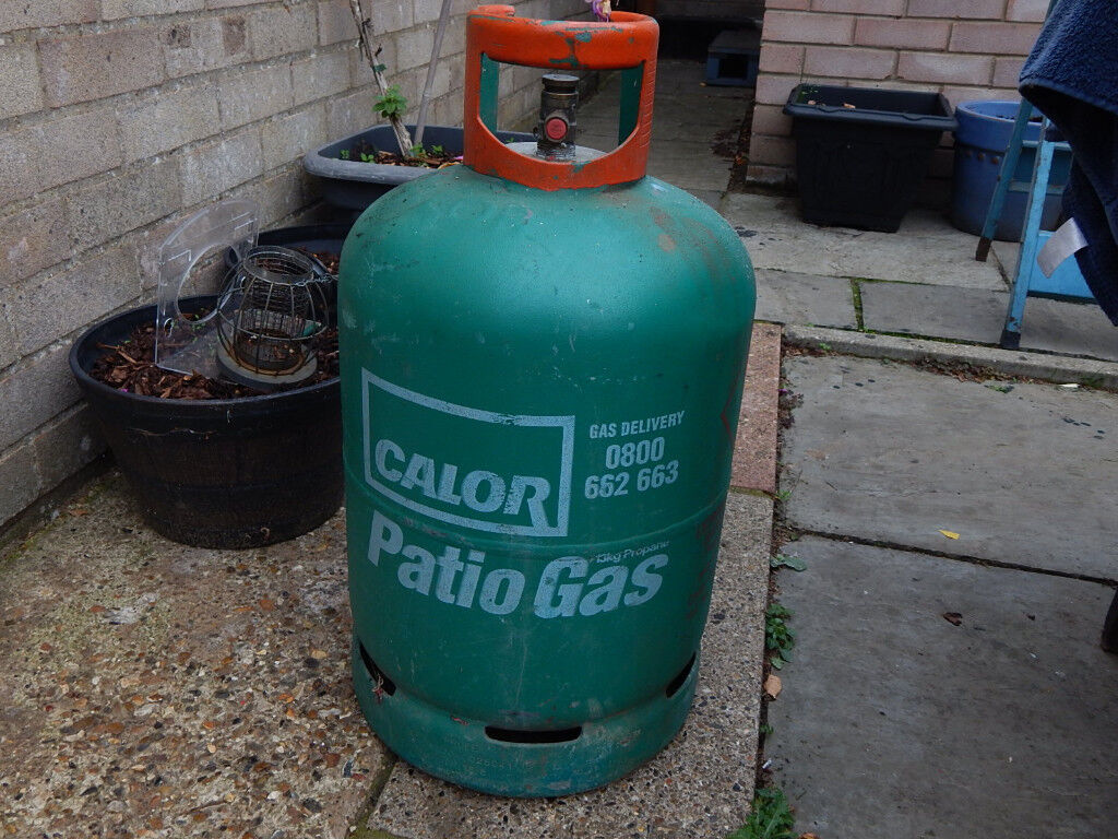 Calor Patio Gas Bottle Almost Full 13kg Size In