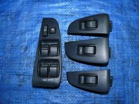 Left hand drive door window switch cosoles x4 Toyota Avensis T25 2003 - 2008 model LHD conversion