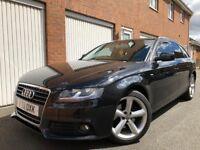 2011 11 Audi A4 Avant Automatic 2.0 TDI FSH+Cambelt S-Line Wheels Full Mot nt 320d a6 Passat
