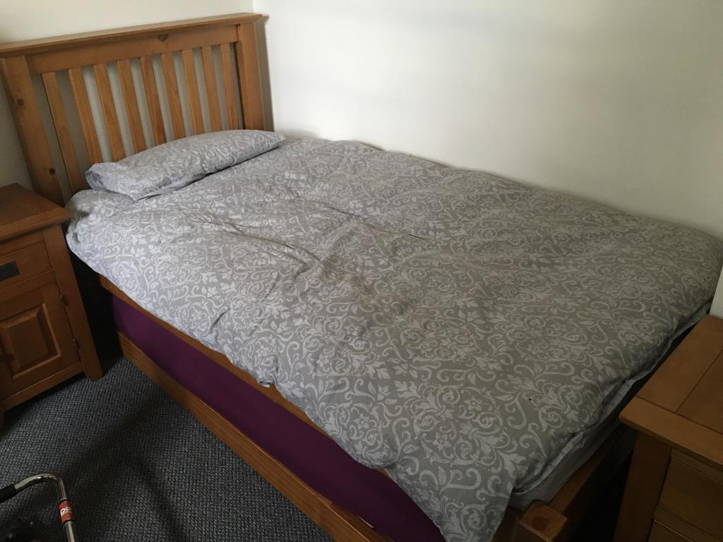 big sale 32b77 cb3b2 Marks and Spencer bedroom set single bed with bed under | in Portobello,  Edinburgh | Gumtree