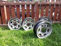 Isuzu wheels £50