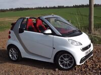 Smart for 2 cabrio MHD 451 Passion soft touch, Unique Red Roof & Interior . Sep 2012. 23200 mls