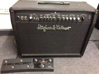 Hughes & Kettner Switchblade 100 Combo + FSM432 MKIII footswitch