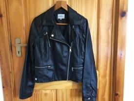 Size 14 women's leather jacket