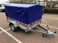 Brand new TEMARED PRO box trailer high quality with high 80 cm cover