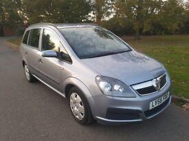 Vauxhall Zafira 1.6 Petrol, 12 Months MOT