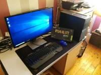 Gaming PC, intel i5 4590, gtx 1050, 8GB RAM