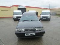 2000 volvo hearse with twin decks just drove home from london mint condition mot to 2017 £5250 no va