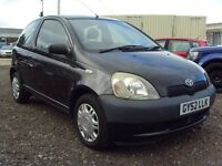 2002 52 TOYOTA YARIS 1.0 VVT-I 16V GS 3dr - *CHEAP INSURANCE* - GREAT LOOKING CAR - LOW MILEAGE - PX