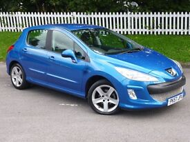 2007 (57) Peugeot 308 1.6 VTi Sport  LOW MILAGE   LONG MOT - NO ADVISORIES   HPI CLEAR   IMMACULATE