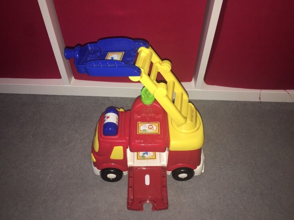 Toot toot drivers fire engine set