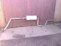 Mercedes Vito W638 Cdi Full Exhaust System 1996>2003