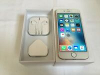 Apple iphone 6 16gb on O2 / Giffgaff / tesco network ***good condition***100% original phone***