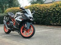 Ktm rc125, very low milage, scorpion exhaust and k&n airfilter