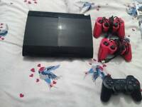 PlayStation 3 ps3 500gb 10 games