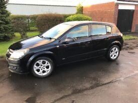 Vauxhall Astra SXI, 1.6 Twinport, 5dr, black, 2006