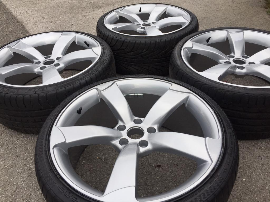 20 Quot Audi Rotor Style Refurbished Alloy Wheel Amp Tyres A4