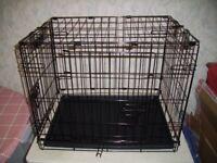 Small Folding Pet Cage 49 cm high x 60 x 43 cm
