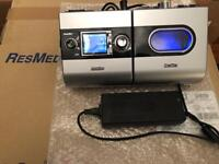 Resmed S9 CPAP Autoset with H5i Humidifier and Power Supply