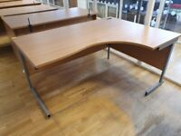 4 Honeycomb L-shaped office desks/table/computer desk