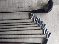 Golf set, 4-P wedge & driver & hybrid