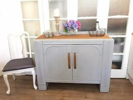 VINTAGE ART DECO SIDEBOARD FREE DELIVERY LDN🇬🇧SHABBY CHIC CHEST
