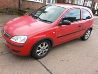 CORSA 2005..3 dr..MOT AUG18. .FSH..98900MILES..BRILL RUNNER..IN OUT CLEAN...