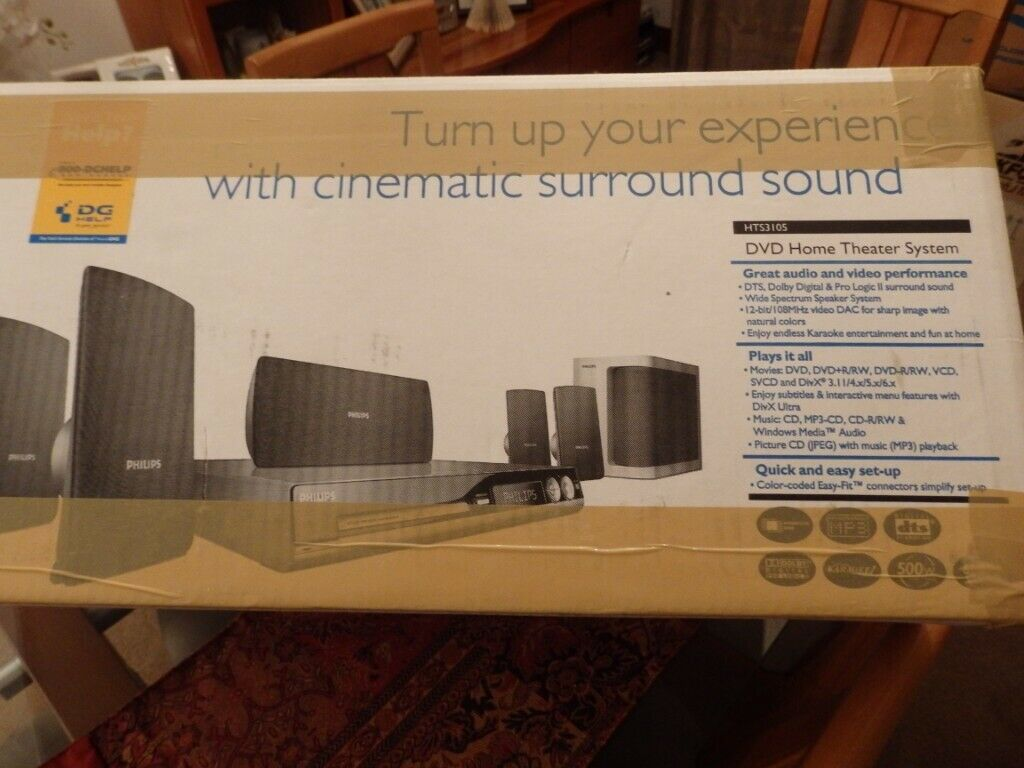 Philips Home Surround System - in original packaging | in Dunfermline, Fife  | Gumtree